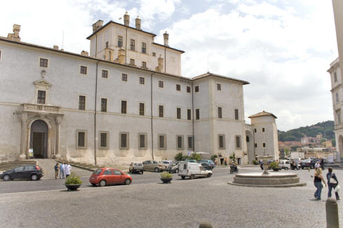 Villa close to Rome, Ariccia, the famous Chigi Palace