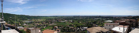 View from Ariccia