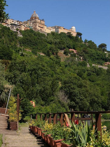 Walk in the Castel Gandolfo surroundings