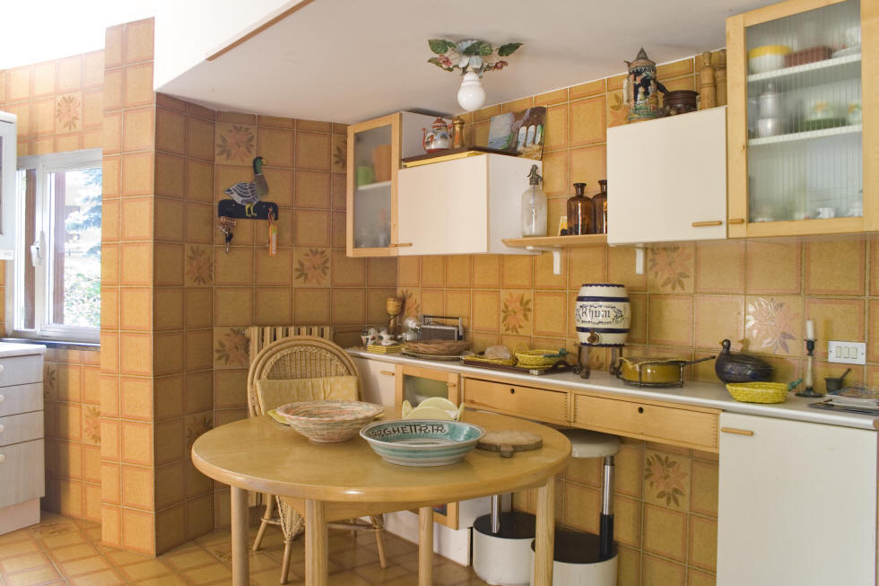 Holiday rental villa, kitchen