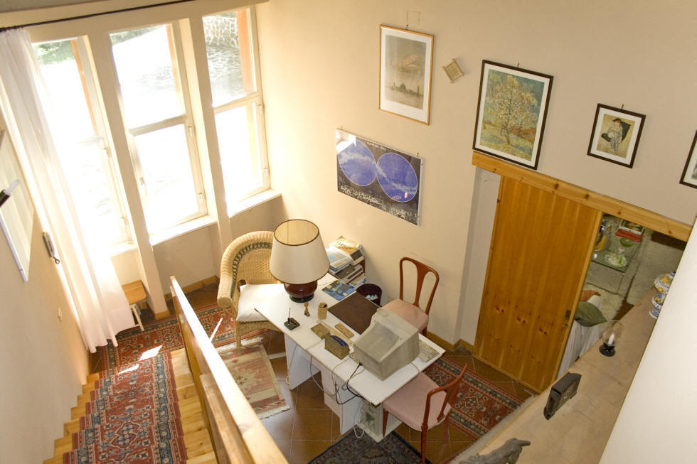 Self catering villa, study